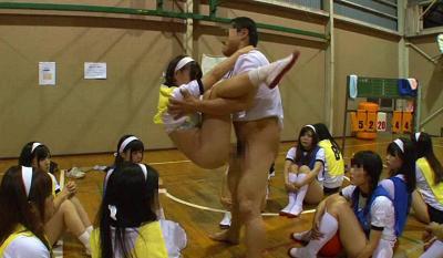 女子校の球技大会で時間を止めてやりたい放題!若い身体を蹂躙する変態おやじ!