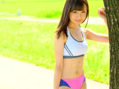 【ロリ美少女】JDのマラソン娘をハメ撮り撮影!