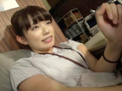 【素人OL】『うぅ…緊張します…』ロリ童顔のスレンダーお姉さんをAV女優デビュー企画でハメ撮り!