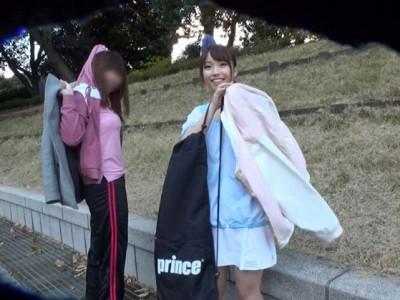 《素人》美少女な女子大生お姉さんを口説いてAV女優デビューさせる企画w