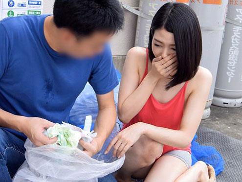 【NTR】巨乳おっぱい奥さんをナンパして即ハメセックス撮影しちゃう企画w
