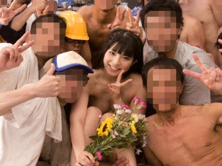 【上原亜衣】スレンダーな巨乳おっぱい美少女AV女優が中出しセックスで痙攣アクメw