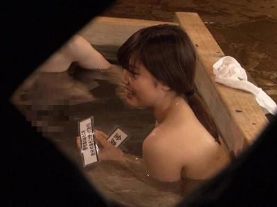 【美少女JD盗撮】『勃起してますよ♡』スレンダー女子大生の混浴企画で発情w3Pや乱交輪姦セックスw